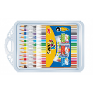 BIC Kid Couler'i pliiatsid, Plastidecor- ja Evolution-i värvipliiatsid