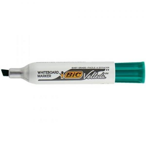 BIC tahvli marker, whiteboard marker VELL 1701, 1-5 mm, green, 1 pc 701023