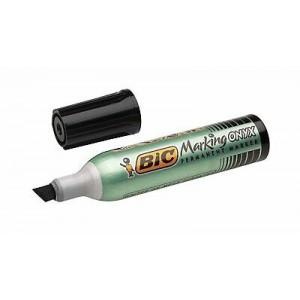 BIC veekindel marker, Permanent Marker Onyx 1482 BLACK Box 12