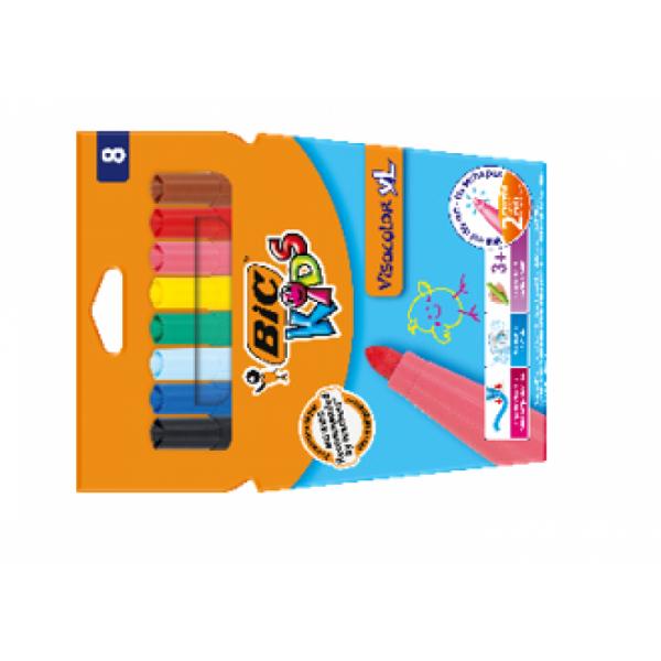 Bic Viltpliiatsid  VISA Color XL CBW8