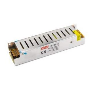 Toiteplokk 150W-12V-12.5A, IP20, 12V,  200*58*37mm
