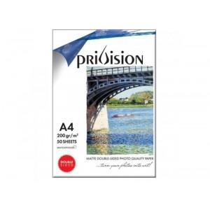 STAR Privision A4 Paber fotode, esitluste ning dokumentide trükkimiseks jugaprinteril. 200gr/m, (297*210mm))
