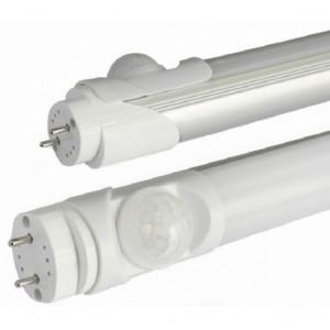 LED T8 Milky PIR 30/100% torud 1500mm Ø30 mm, 25W DW