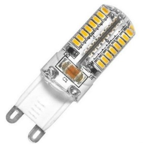LED bulbs G9 5W silikoon 230V 2500-3000K