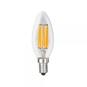 LED filament bulb E14-C35 4W 3000K