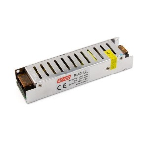 Toiteplokk 60W-12V-5A, IP20, 12V,  160*40*32mm