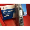 G&G analoog tindikassett Canon PFI-706MBK