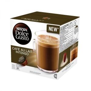 Nescafe Kohvikapslid. DG Au Lait Intenso 16 pcs