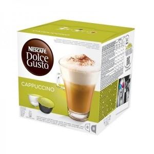 Nescafe Kohvikapslid. DG Cappuccino, 16 pcs