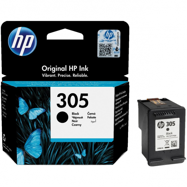 HP tint 305 black 3YM61AE