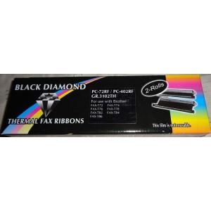 Black Diamond trükilint Brother T72 T74 T76