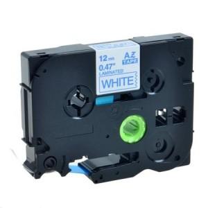 Dore analog Brother TZ-233 TZe-233 Label Maker Tape, 12mm x 8m, Blue on White
