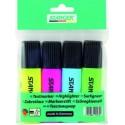 Tekstimarkerid STANGER highlighter, 1-5 mm, set 4 pcs (markerid, 4 värvi)