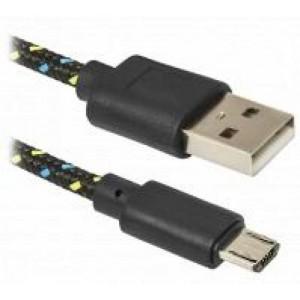 Defender Kaabel USB08-03T USB2.0 AM-MicroBM, 1.0м