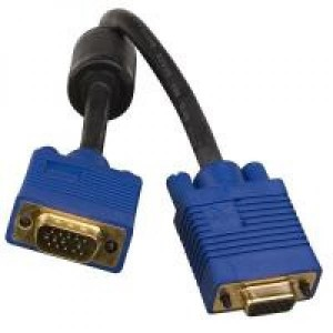 VGA PRO cable extension HD DB15 M/F, 20 m