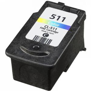 Static Control analoog tindikassett Canon CL-511 Tri-Colour C/M/Y 2972B001