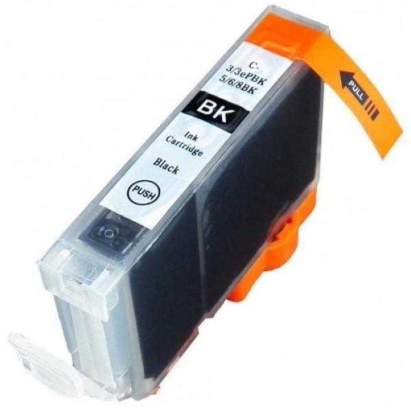 Tindikassett originaal Canon BCI-3ePBK BK