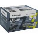Alkalin Batareid Defender LR6-4F AA, kilepakend 4tk