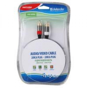 Audio-Video cable Defender RCA2P2P-05PRO