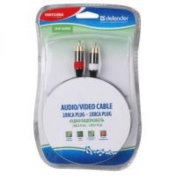 OEM audio-video kaabel Audio/videokaabel 2xRCA PLUG - 2xRCA PLUG PRO,
