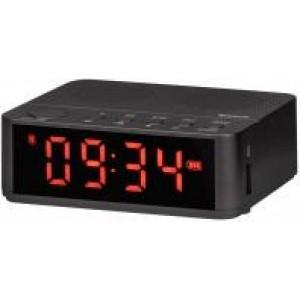 Portatiivne akustiline süsteem Enjoy M800 alarm clock with speaker, 3W