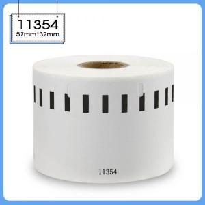 Dore Analoog Genuine Dymo etikettide rull 11354 S0722540 57mm x 32mm