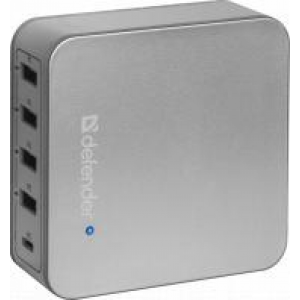Зарядное устройство adapter 4 ports USB+Type C 5V/8A