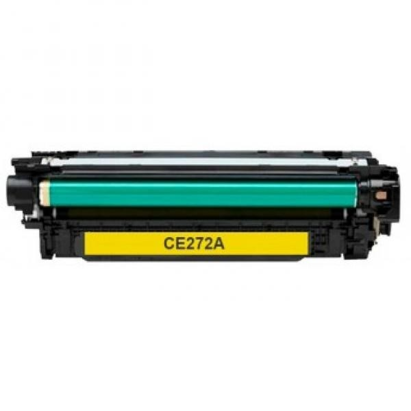 DORE analoog toonerkassett HP CE272A 650A Canon CRG137 Y
