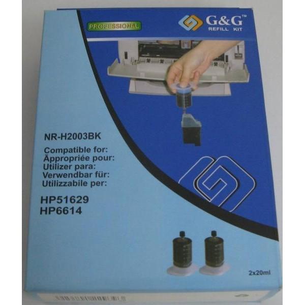 G&G HP Tindi täitekomplekt NR-H2003BK