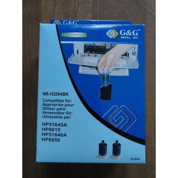 G&G Täitmiskomplekt HP51645A HP6615 HP51640A HP6650