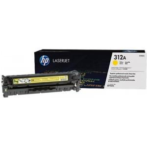 HP originaal tooner CF382A 312A Y