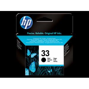 HP чернильный картридж 51633ME HP 33 Black
