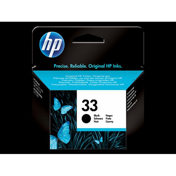 HP Tindikassett 51633ME HP 33 Black