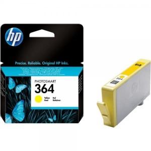 HP ink cartridge CB320EE 364 Y