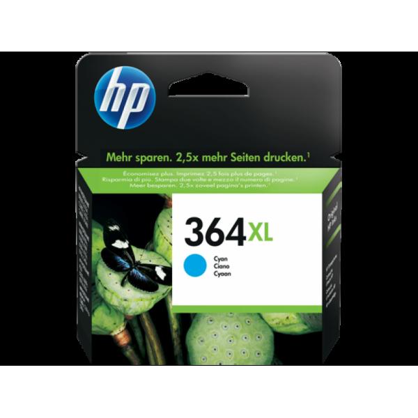 HP tindikassett CB323EE 364XL Cyan CF323 CB323HE