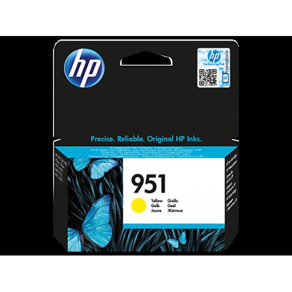 HP tindikassett CN052AE 951 Yellow