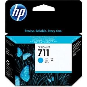 HP tindikassett CZ130A 711 Cyan