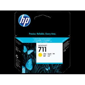 HP tindikassett CZ132A 711 Yellow