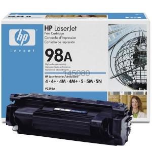 HP тонер 92298A 98A BK