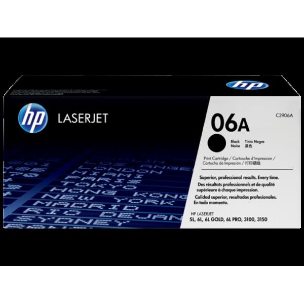 HP toonerkassett C3906A  06A BK