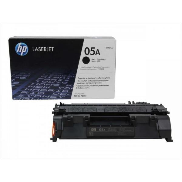 HP toonerkassett CE505A BK
