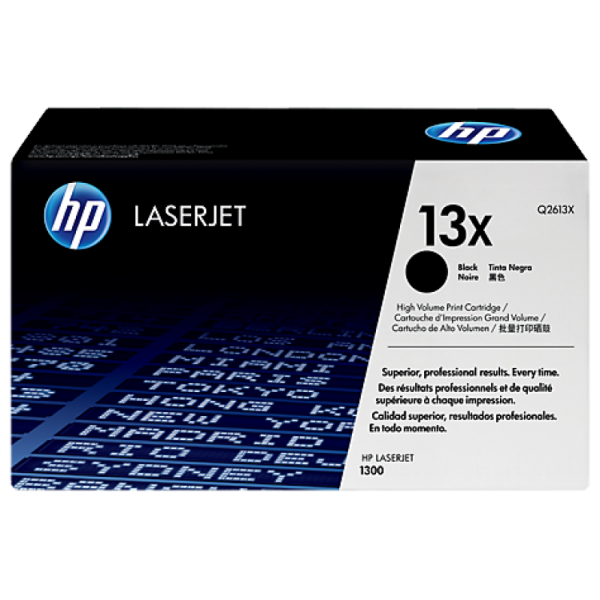 HP toonerkassett Q2613X 13X BK