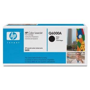 HP тонер-картридж Q6000A 124A BK