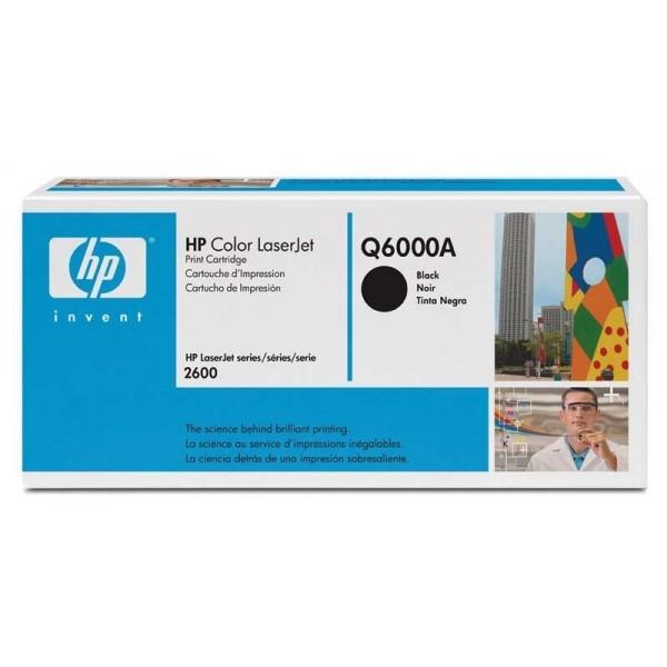 HP toonerkassett Q6000A 124A BK