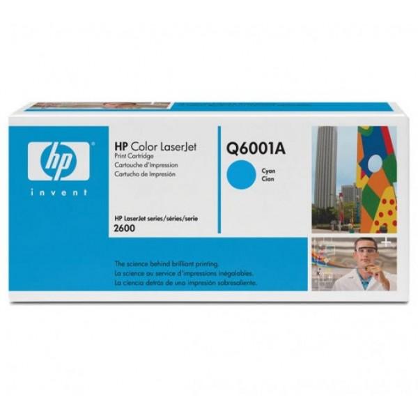 HP toonerkassett Q6001A 124A C