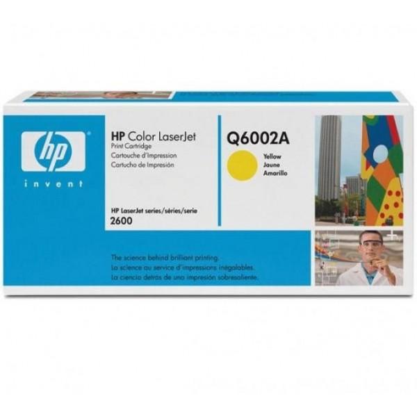 HP toonerkassett Q6002A 124A Y