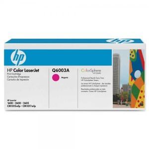 HP тонер-картридж Q6003A 124A