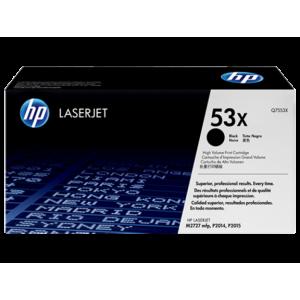 HP toner cartridge Q7553X 53X