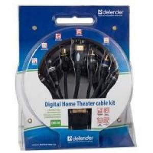Кабельный набор для подключения домашнего кинотеатра и цифровых устройств Defender DHT-01