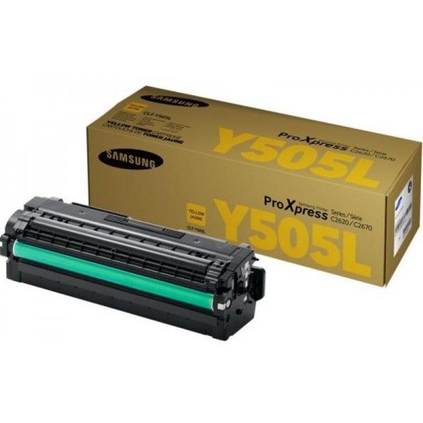 Samsung toonerkassett CLT-Y505L ProXpress C2620 C2670